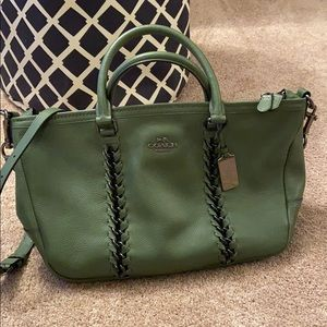 Coach Whipstitch Leather bag #35950
